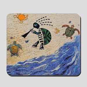 Kokopelli Turtle Mousepad
