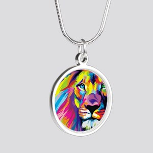 by: flaco  Silver Round Necklace