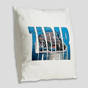 Zadar Burlap Throw Pillow