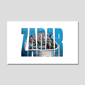 Zadar Car Magnet 20 x 12