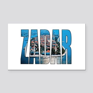 Zadar Rectangle Car Magnet