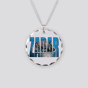 Zadar Necklace Circle Charm