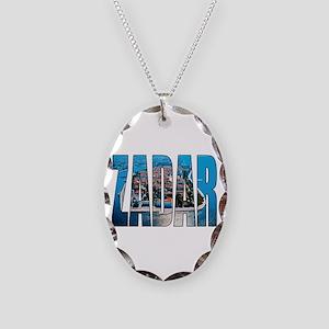 Zadar Necklace Oval Charm