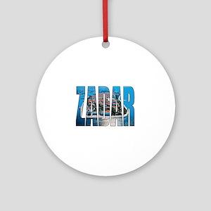 Zadar Round Ornament