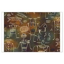 Hopi Petroglyphs Large Poster