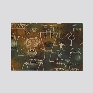 Hopi Petroglyphs Rectangle Magnet
