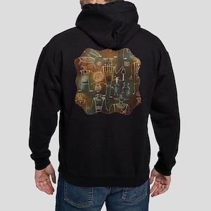 Hopi Petroglyphs Hoodie (dark)