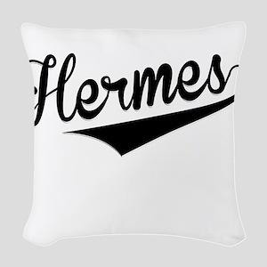 Hermes, Retro, Woven Throw Pillow