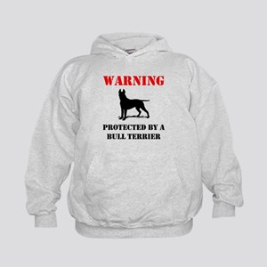Protected By A Bull Terrier Hoodie