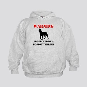 Protected By A Boston Terrier Hoodie