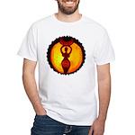 Jack-o-Lantern #1 White T-Shirt