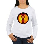 Jack-o-Lantern #1 Women's Long Sleeve T-Shirt