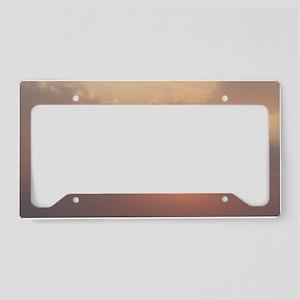 nature sunshine License Plate Holder