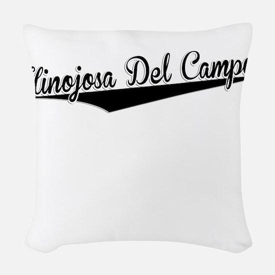 Hinojosa Del Campo, Retro, Woven Throw Pillow