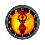 Jack-o-Lantern #1 Wall Clock