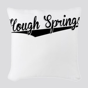 Hough Springs, Retro, Woven Throw Pillow