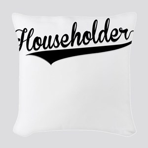 Householder, Retro, Woven Throw Pillow