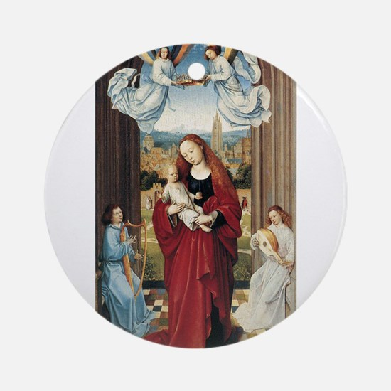 15th Centruy - Virgin and Child With Angels Orname