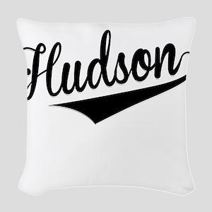 Hudson, Retro, Woven Throw Pillow