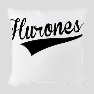 Hurones, Retro, Woven Throw Pillow