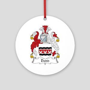 Dodd Ornament (Round)