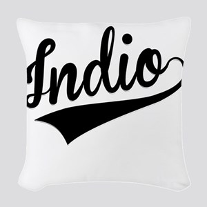 Indio, Retro, Woven Throw Pillow