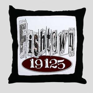 Unique Philadelphia Fishtown Throw Pillow