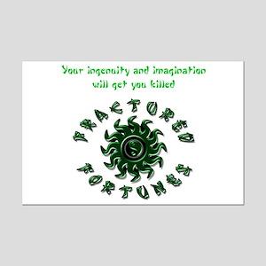 Ingenuity (Green) Mini Poster Print