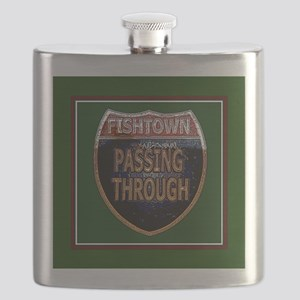 Fishtown - Passing through - sq Flask