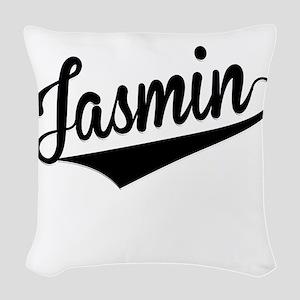 Jasmin, Retro, Woven Throw Pillow