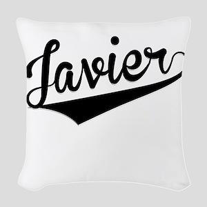 Javier, Retro, Woven Throw Pillow