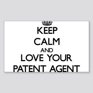 Keep Calm and Love your Patent Agent Sticker