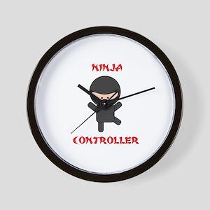 Ninja Controller Wall Clock