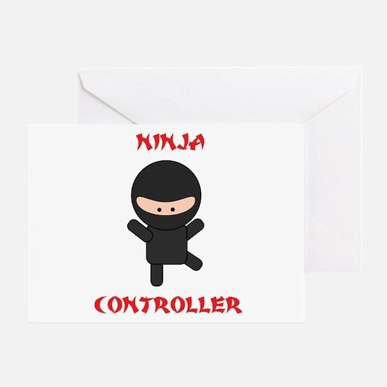Ninja Controller Greeting Card