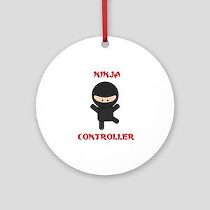 Ninja Controller Ornament (Round)