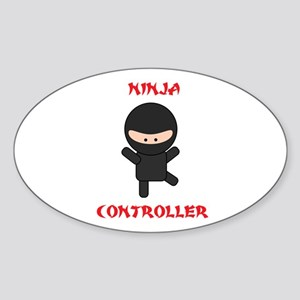 Ninja Controller Sticker (Oval)