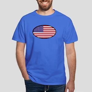 Star Spangled Oval Dark T-Shirt