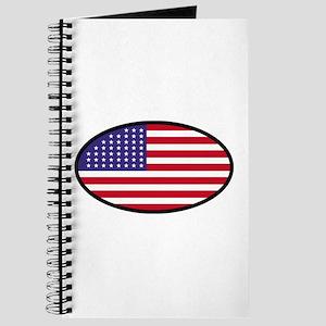 Star Spangled Oval Journal