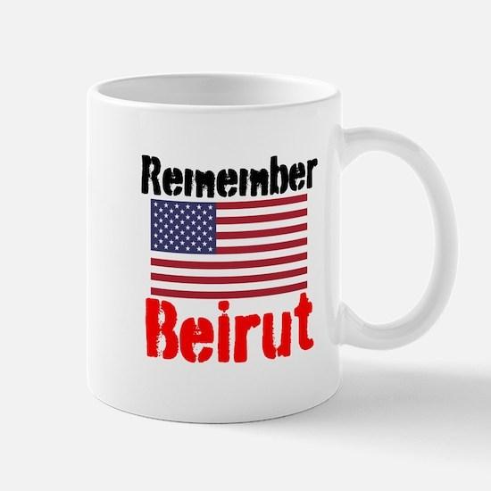 Remember Beirut Mugs