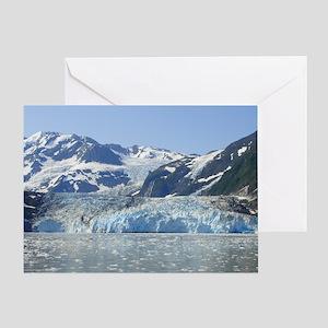 Where Glacier Meets Ocean Greeting Card
