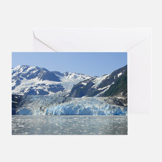 Where Glacier Meets Ocean Greeting Card