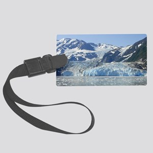 Where Glacier Meets Ocean Large Luggage Tag