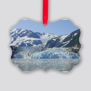 Where Glacier Meets Ocean Picture Ornament