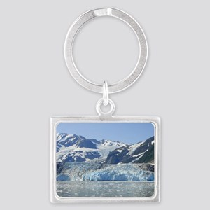 Where Glacier Meets Ocean Landscape Keychain