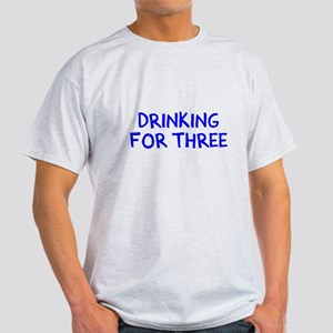 Eating For Two Drinking For Three Light T-Shirt