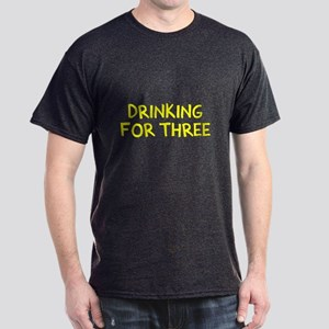 Eating For Two Drinking For Three Dark T-Shirt