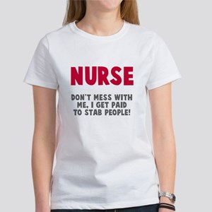 Nurse Stab People Women's T-Shirt