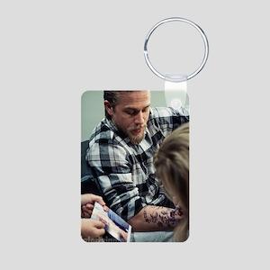 SOA - Jax Teller Aluminum Photo Keychain