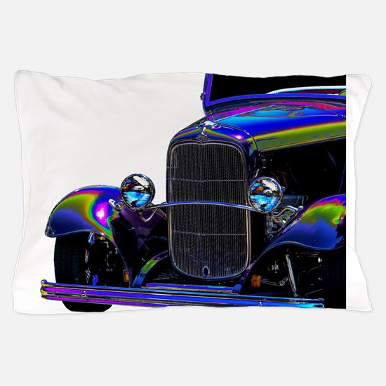 Classic Ford Hotrod - Vintage Auto Pillow Case