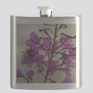 Fireweed Blooms Flask